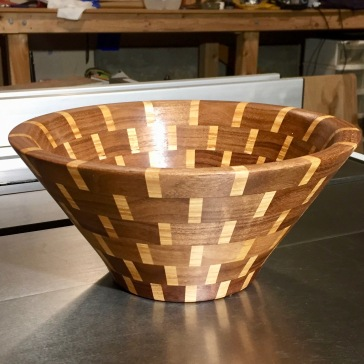 Segmented Bowl Walnut