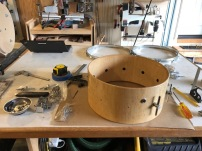Snare-Birds Eye Maple-Assembly