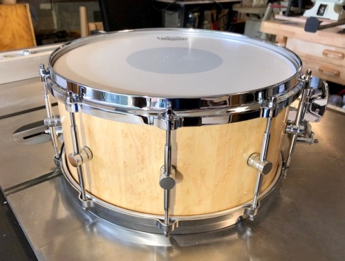 Snare-Birds Eye Maple